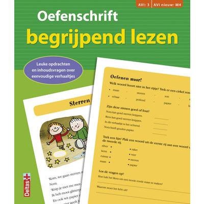 Deltas Oefenschrift begrijpend lezen - AVI:3 AVI nieuw: M4 (groen)