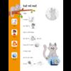 Deltas Ik leer lezen stickerboek - Kat is het zat (avi start, avi1)