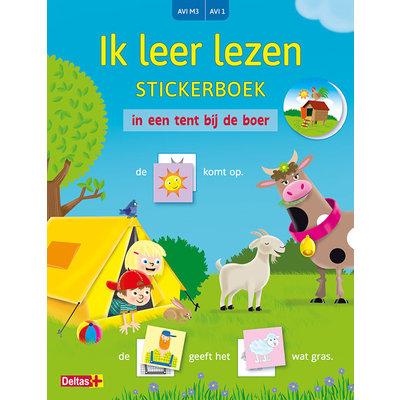 Deltas Ik leer lezen stickerboek - In een tent bij de boer (aviM3, avi1)
