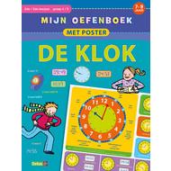 Deltas Mijn oefenboek met poster - de klok (7-9 Jaar)