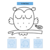 Deltas Stickerpret voor kleine handjes (2-4 jaar) plakken, kleuren, woordjes leren