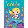 Deltas Happy color - zeemeermin kleurblok