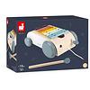 Janod Houten speelgoed - Xylofoon op wielen - Sweet Cocoon