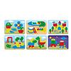 Miniland Mozaiek Pegs, 10 mm (+230 stuks)