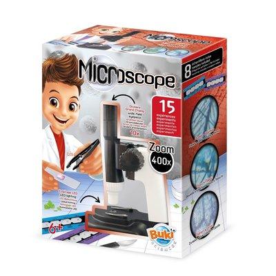 Buki Experimenten met Microscoop met 15 experimenten
