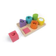 Janod I Wood - vorm en geluid puzzel