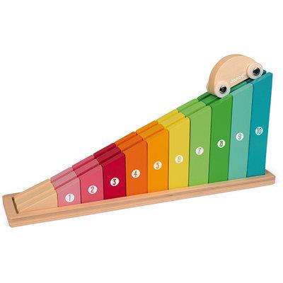 Janod Ik leer tellen crescendo - houten speelgoed