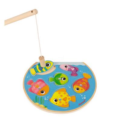 Janod Houten spel - vissen vangen - magnetisch