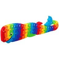 Lanka Kade Alfabet houten puzzel - walvis Whoopi (26 stuks)