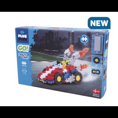 Plus-Plus Mini basic GO - Crazy Cart - 240 stuks
