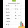 Deltas Oefenkaarten met uitwisbare stift -ik leer rekenen en schrijven  (6-7 jaar)