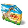 Madd Capp Ik ben puzzel - Giraf - 100 stukjes, posterformaat