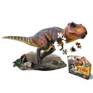 Madd Capp Ik ben puzzel - T-Rex - 100 stukjes, posterformaat
