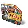 Madd Capp Ik ben puzzel- T-Rex - 100 stukjes, posterformaat