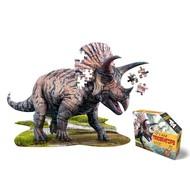 Madd Capp Ik ben puzzel - Triceratops - 100 stukjes, posterformaat