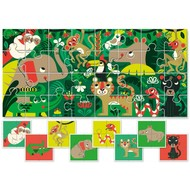 Ludattica Baby puzzel - de Jungle