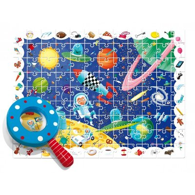 Ludattica Detective puzzel - Ruimte