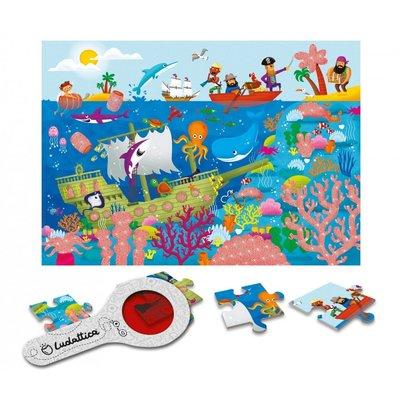 Ludattica Puzzel met geheimen - de Zee