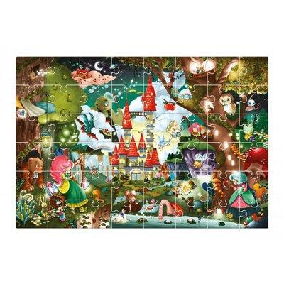 Ludattica Giant puzzel - het Magische Kasteel