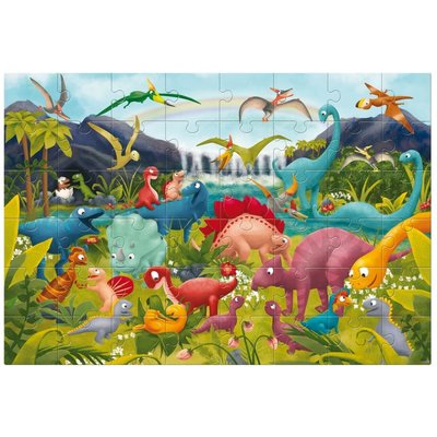 Ludattica Giant puzzel - de dinosaurus