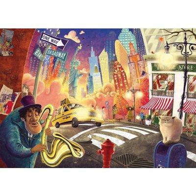 Ludattica Grand Tour puzzel - New York - 150 stukjes