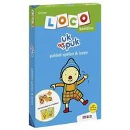 Loco Uk & Puk  pakket - basisdoos en 2 boekjes - spelen en leren (bambino)