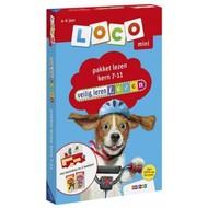 Loco Veilig Leren Lezen pakket, basisdoos en 2 boekjes - kern 7-11 (mini)