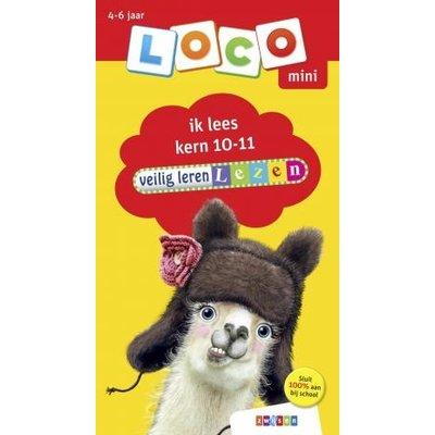 Loco Veilig leren lezen - ik lees kern 10-11 (mini)