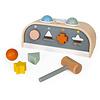 Janod Hamerbank en Vormenstoof - houten speelgoed - sweet cocoon