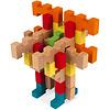 Janod Houten constructieblokken - 100 stuks