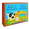 Deltas 12 sjabloonkaarten - zo teken je de dieren van de boerderij
