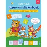 Deltas Superleuk kleur- en stickerboek - ik kan al woorden vormen (6-7 J.))