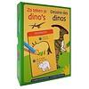 Deltas 12 sjabloonkaarten - zo teken je dino's