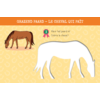 Deltas 12 sjabloonkaarten - zo teken je paarden