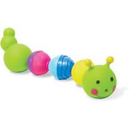 Lalaboom Badspeelgoed - rups van educatieve kralen (8 stuks)