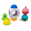 Lalaboom Mini kubus met educatieve kralen ( 9 stuks )
