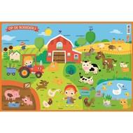 Deltas Educatieve onderlegger -  op de boerderij (preschool)