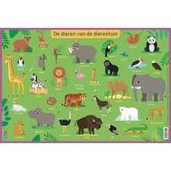 Deltas Educatieve onderlegger - de dieren van de dierentuin (preschool)