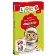 Loco Veilig Leren Lezen pakket, basisdoos en 2 boekjes - kern 1-6 (mini)