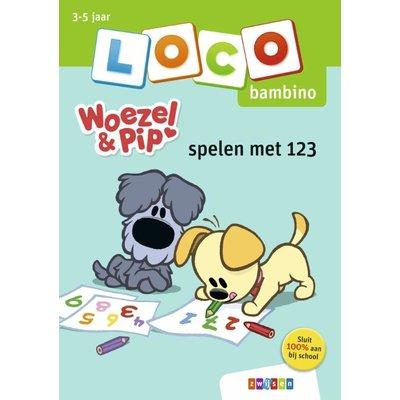 Loco Woezel & Pip -spelen met 123 (bambino)