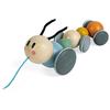 Janod Houten speelgoed - trekfiguur Rups