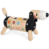 Janod Houten speelgoed - hond met vormen en kleuren