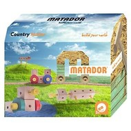 Matador Houten constructieset  - Maker country - 38 delig