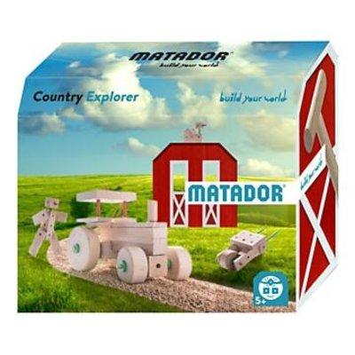 Matador Houten constructieset  - Explorer country - 47 delig