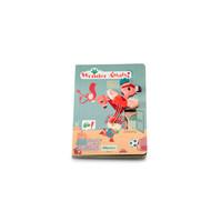 Lilliputiens Kartonnen doolhof/speurboekje - met een stoffen Anaïs, de super heldin