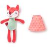 Lilliputiens Stoffen speelgoed - het gezin van Alice het vosje