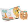 Lilliputiens Kartonnen, mijn eerste puzzelboek - 1,2,3 bos