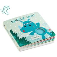 Lilliputiens Kartonnen voelboekje met geluiden - jungle