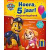 Deltas Verjaardagsboek - Paw Patrol Hoera, 5 jaar