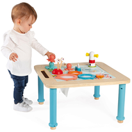 Janod Activiteitentafel - houten speelgoed - verstelbaar